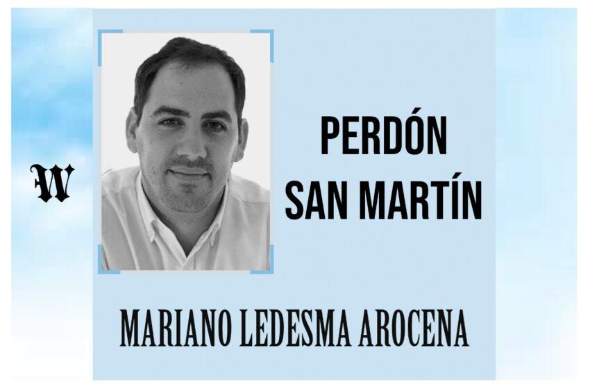 Perdón San Martín