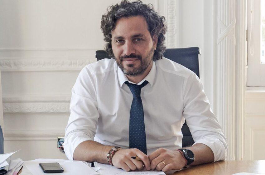 """Santiago Cafiero: """"Hace mucho no hablábamos con el gobierno porteño sobre la coparticipación"""""""