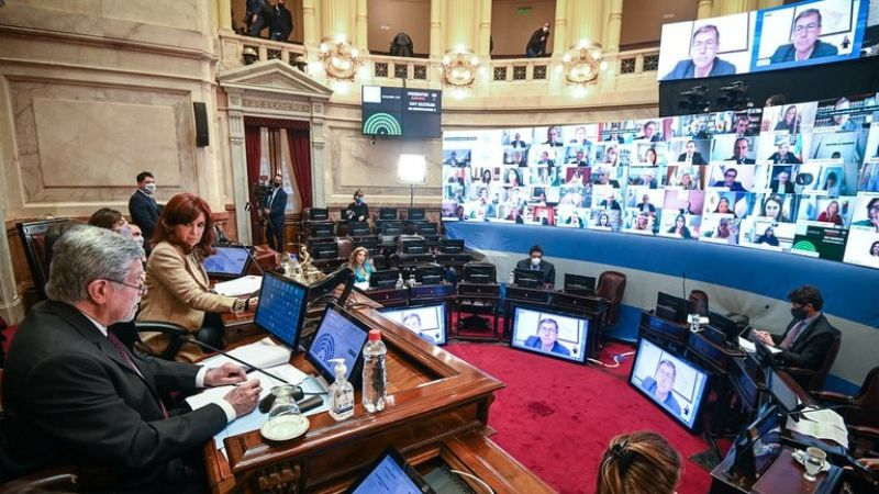 El Senado aprobó la remoción de tres jueces