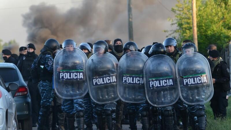 La Policía desalojó la toma de Guernica