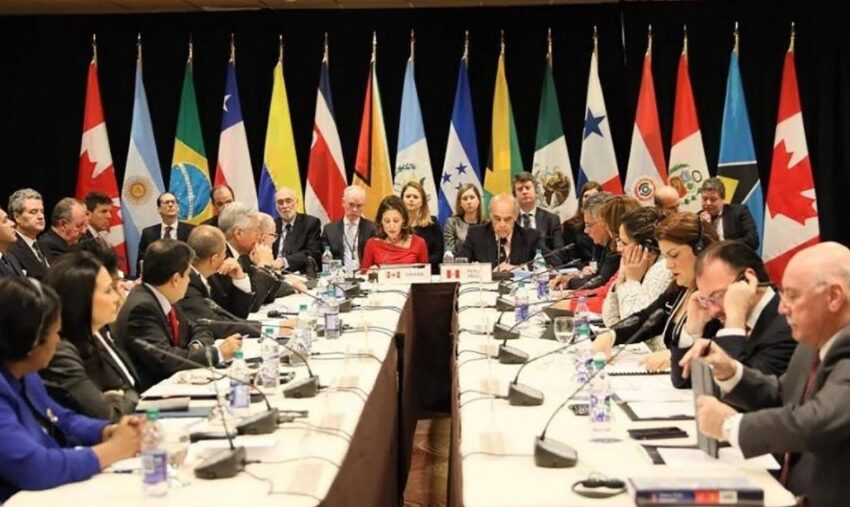 Argentina no firmó el documento del Grupo Lima contra Venezuela