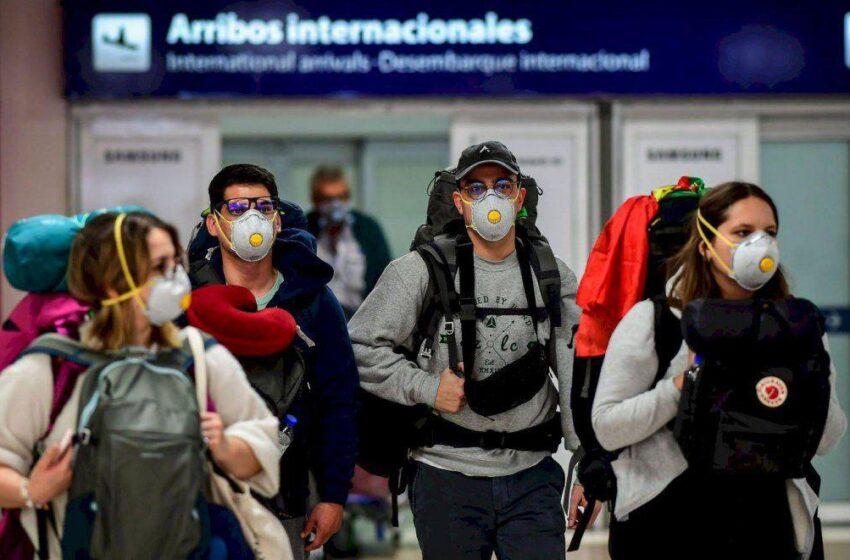 Suspenden desde el sábado los vuelos procedentes de Brasil, Chile y México