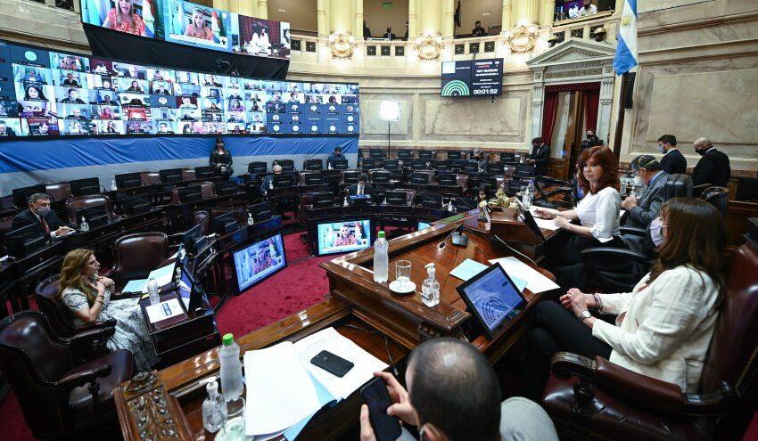 El senado aprobó el Presupuesto 2021 pero deberá volver a diputados