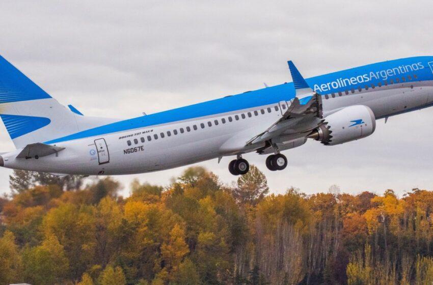 Aerolíneas Argentinas planea operar 650 vuelos en noviembre