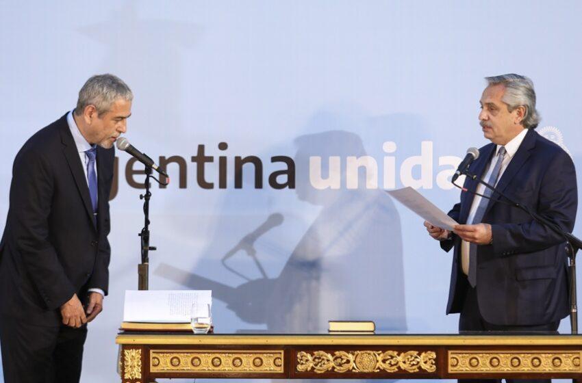Jorge Ferraresi asumió como ministro de Desarrollo Territorial y Hábitat