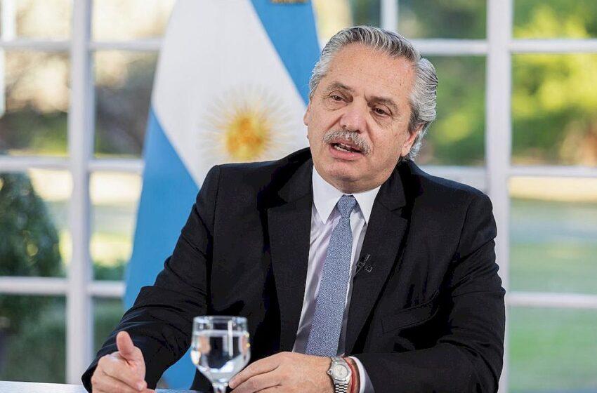 Alberto Fernández anunció un aumento para los jubilados