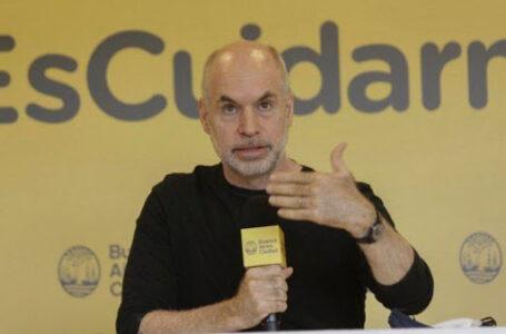 Horacio Rodríguez Larreta anunció el regreso a la presencialidad obligatoria en las escuelas porteñas