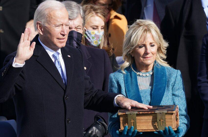 Joe Biden asumió como presidente de Estados Unidos