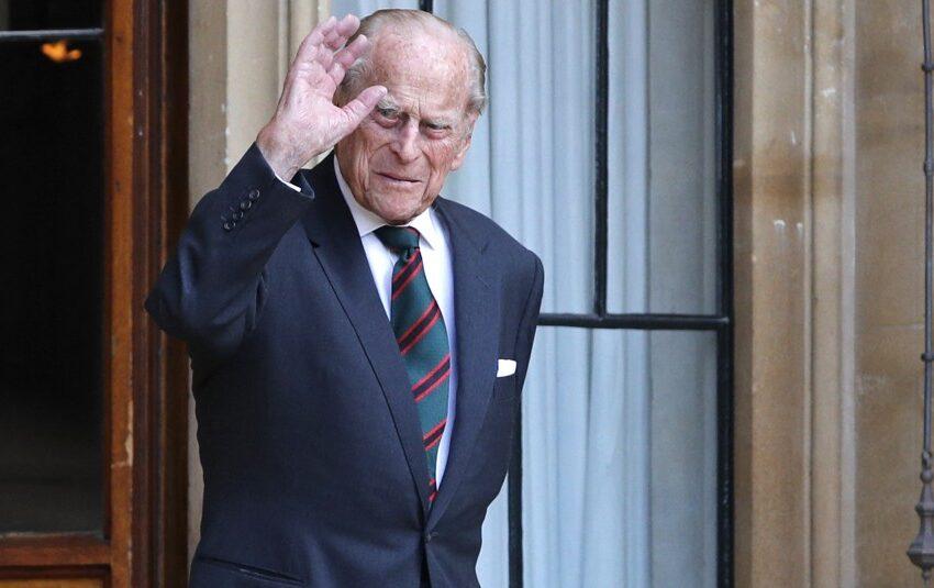 Hospitalizaron al príncipe Felipe de 99 años