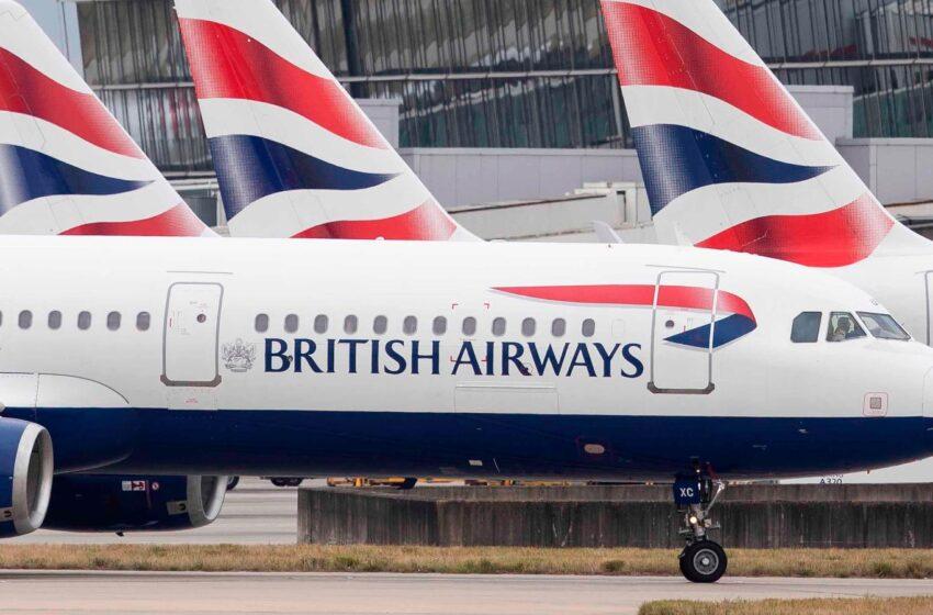 British Airways lanza tarifas súper flexibles