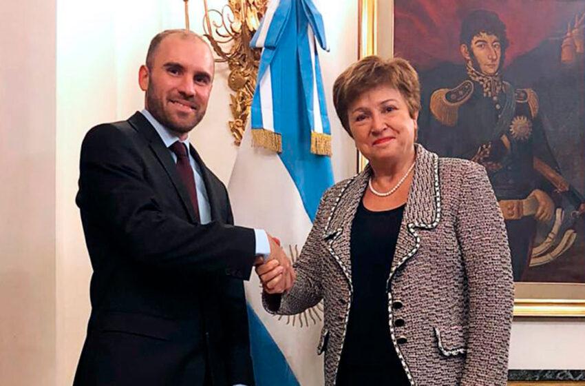 Martín Guzmán se reunirá con Kristalina Georgieva para avanzar en las negociaciones con el FMI