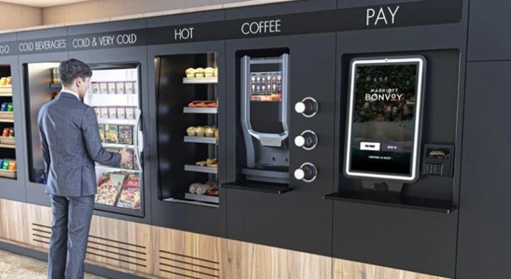 Marriott sustituye sus buffets por quioscos de autoservicio y máquinas expendedoras