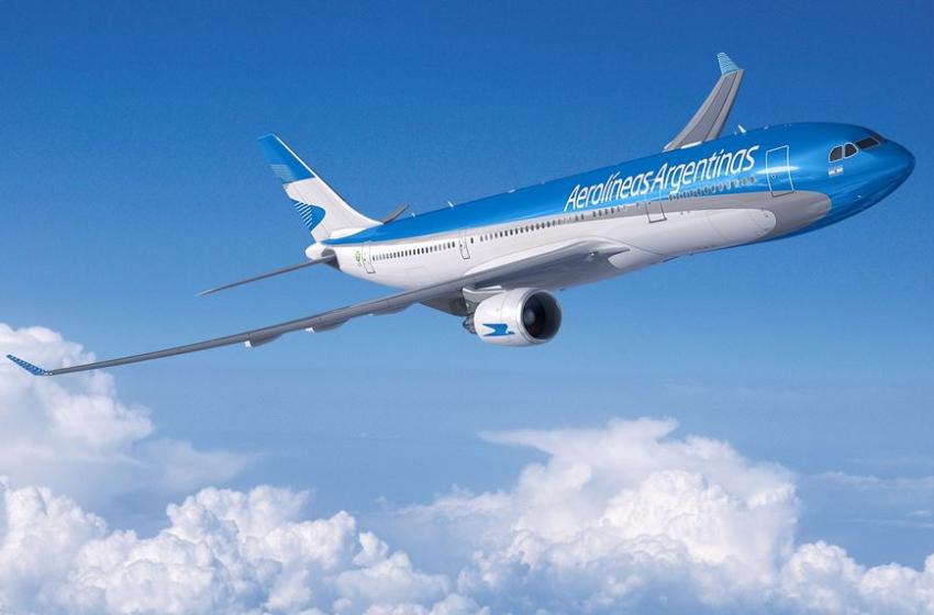 Aerolíneas Argentinas canceló casi 60 vuelos