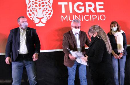 El Municipio y la Provincia de Buenos Aires entregaron escrituras a 165 familias de Tigre
