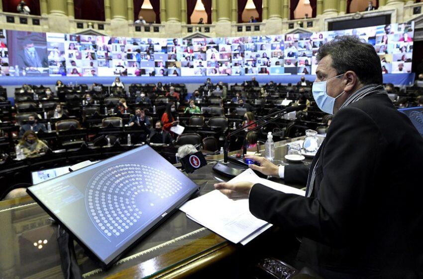 La Cámara de Diputados vuelve a la presencialidad plena