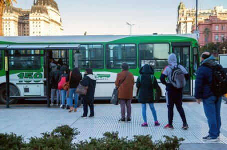 Eliminan el límite de ocupación en el transporte público