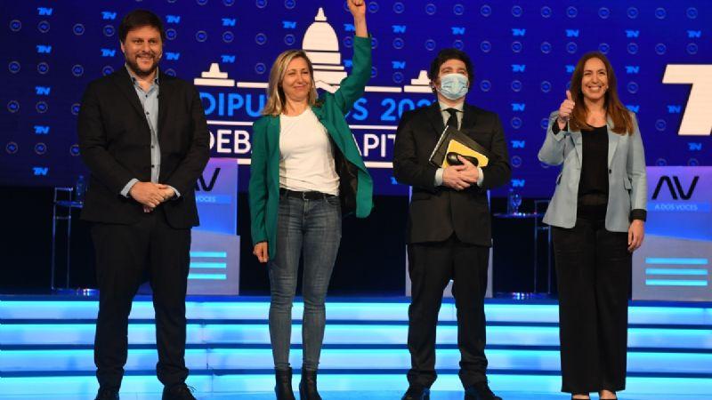 Debate televisivo entre los candidatos a diputados de la Ciudad de Buenos Aires